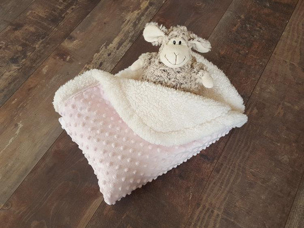 Winter Blanket - Dreamy pink - Mamastore