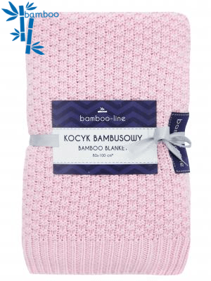 Bamboo baby blanket - Strawberry kiss - Mamastore
