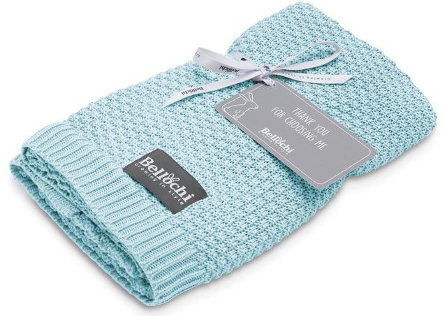 Bamboo baby blanket - Mint - Mamastore