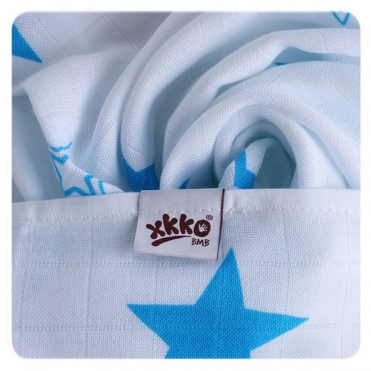 Multi-use swaddle - Cyan stars - Mamastore