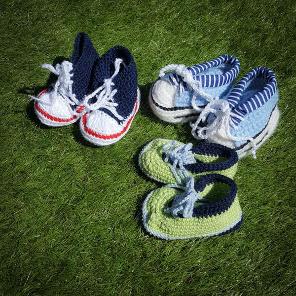 Newborn shoes Football player - Mamastore