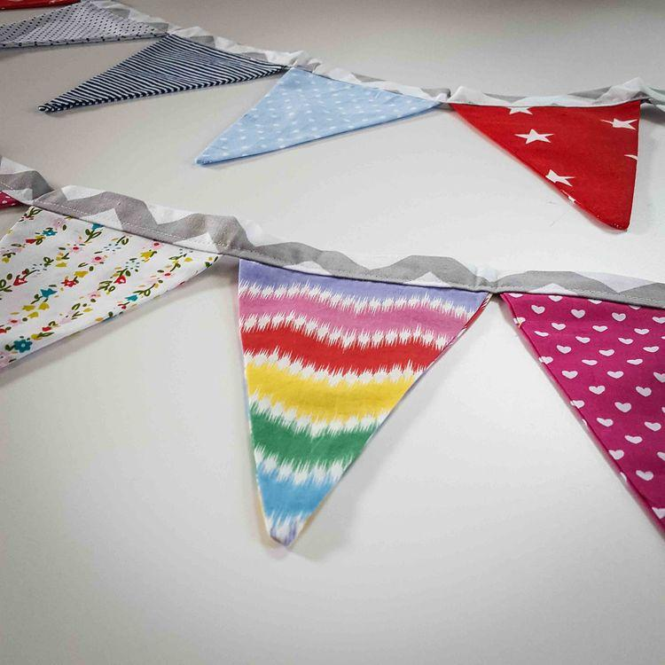 Nursery decoration - Colorful flag banner - Mamastore