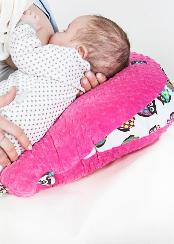 Nursing pillow Wild chick - Powder pink - Mamastore