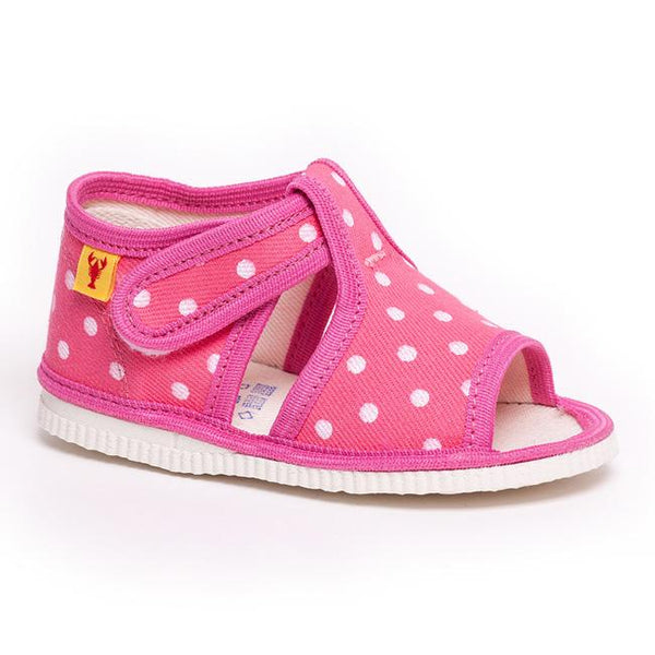 Slippers - Pink dots - Mamastore