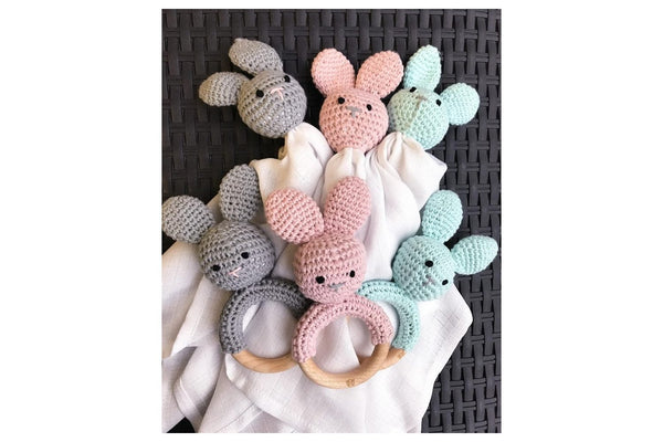 Comfort Toy - Bunny silver - Mamastore