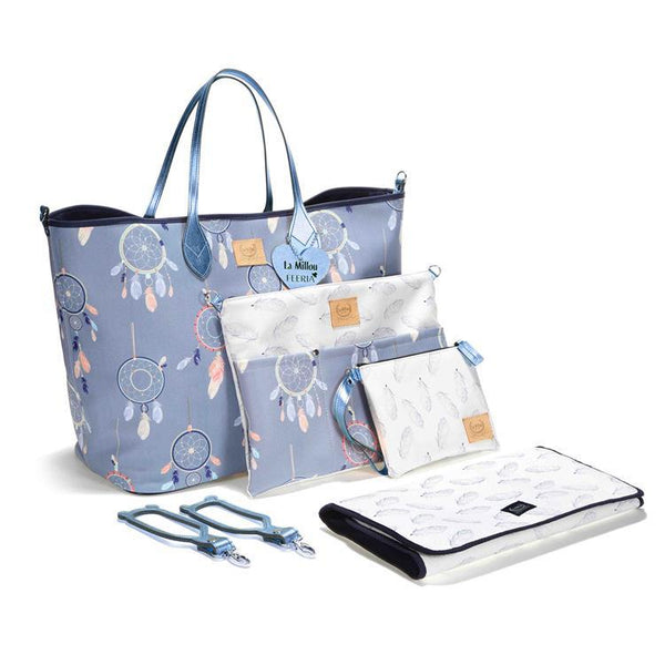 Diaper bag set - Dreamcatcher Grey - Mamastore
