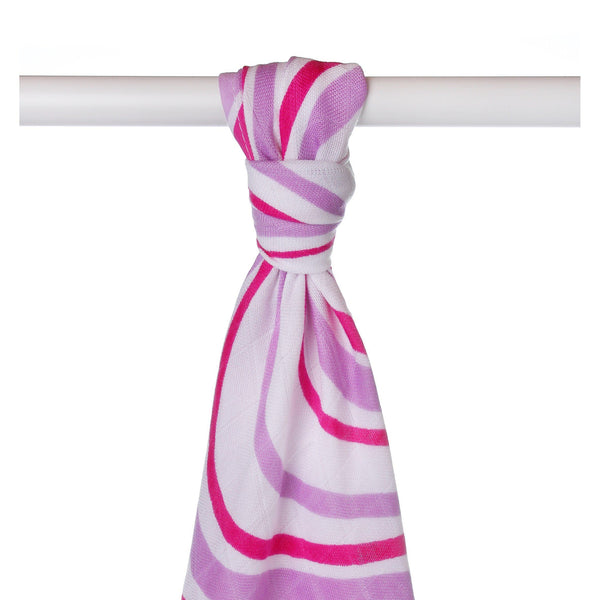 Supersoft Muslin Towel - Lilac Waves - Mamastore