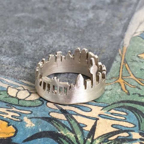 Berlin silhouette ring - 925 silver