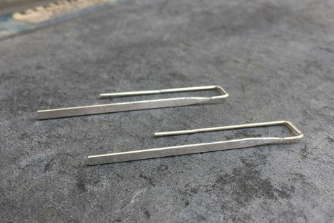 laura long earrings - 925 silver