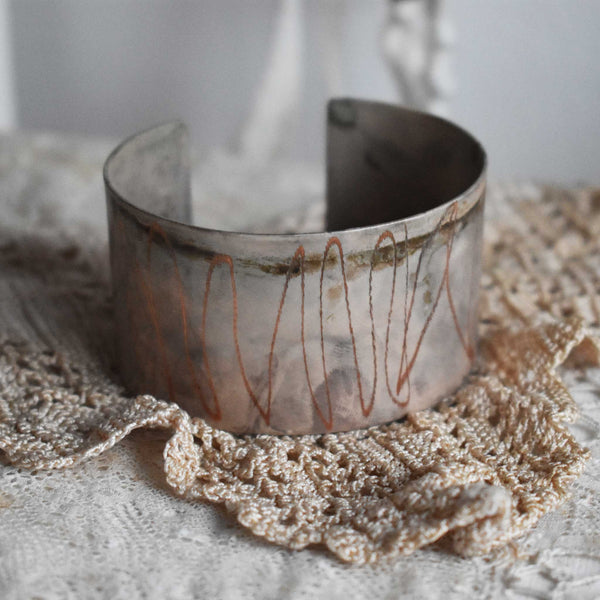 *arena* copper cuff