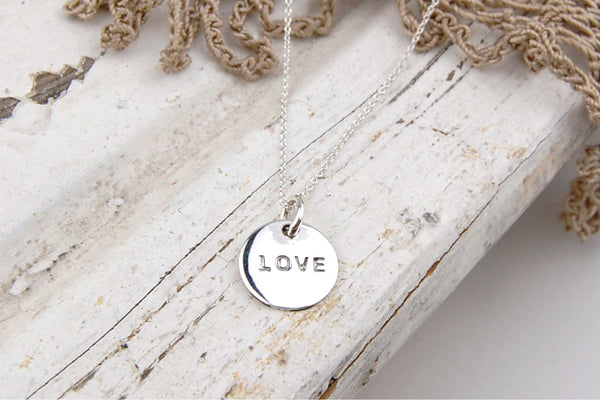 'love coin' necklace | 925 silver