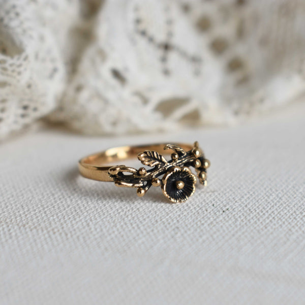 'isabetta' ring | bronze