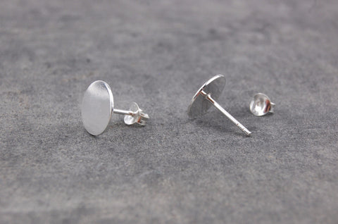 round earstuds (925 silver)