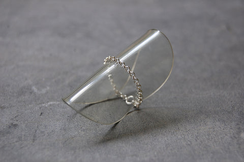 925 silver chain ring