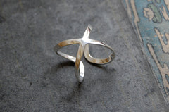 """Equis "" ring 925 silver"