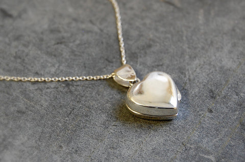 locket (heart shaped) necklace