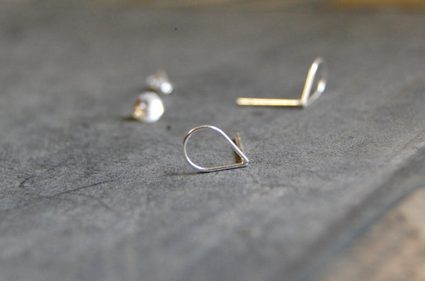 droplet earstuds (925 silver)