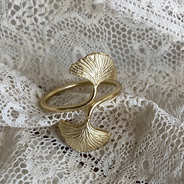 'ginkgo' ring | 925 silver