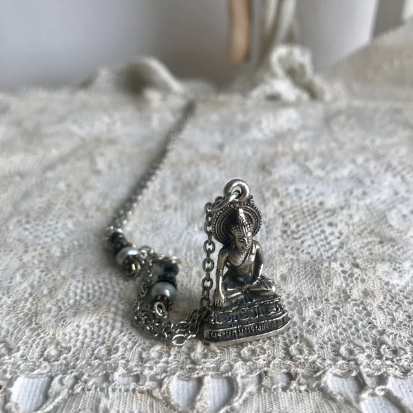 sitting Buddha Necklace