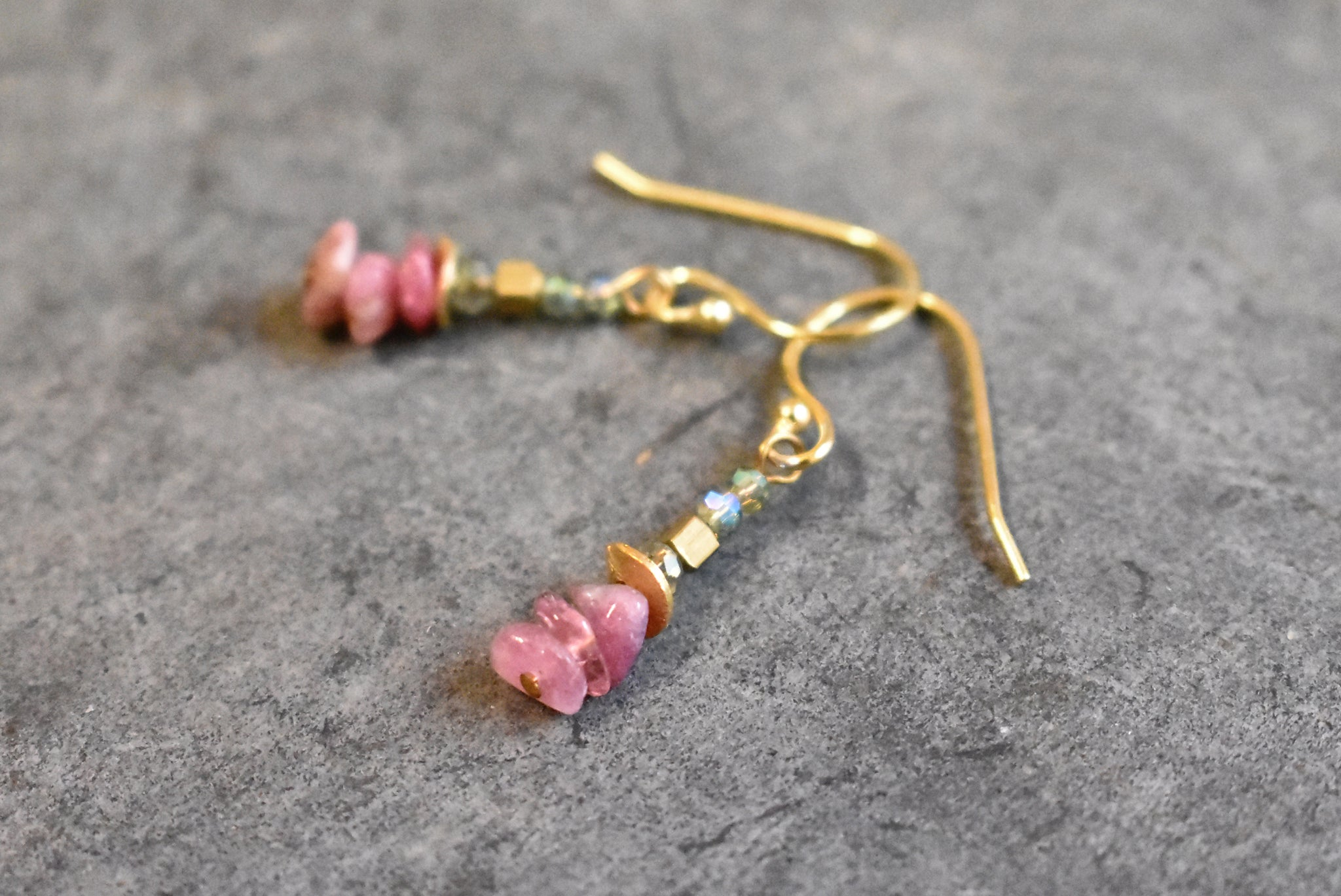 turmalina earrings