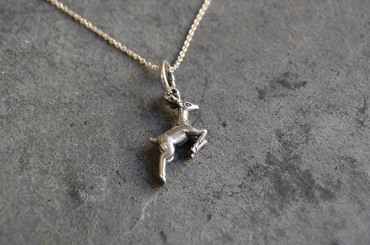 little deer | pendant necklace | 925 silver