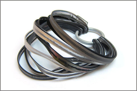 bracelet Fresh grey/black