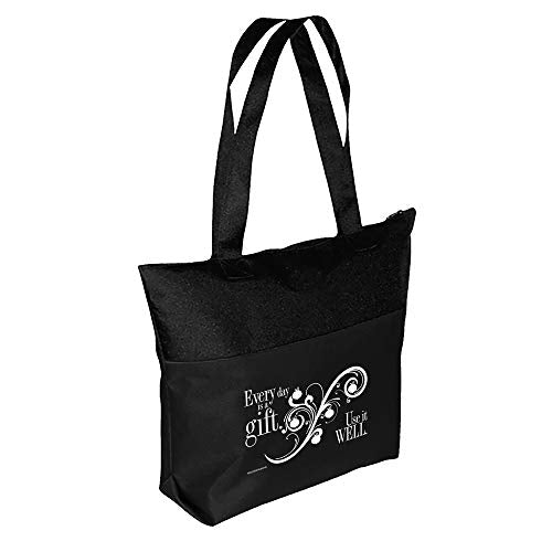 Motivational Encouragement Every Day's A Gift Tote Bag