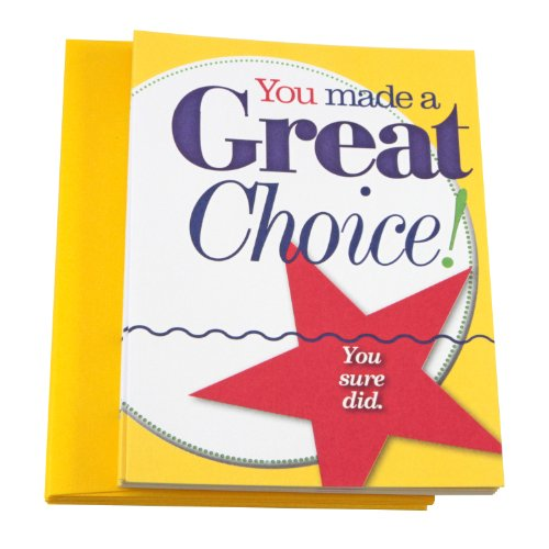 Great Choice Notecards and Envelopes