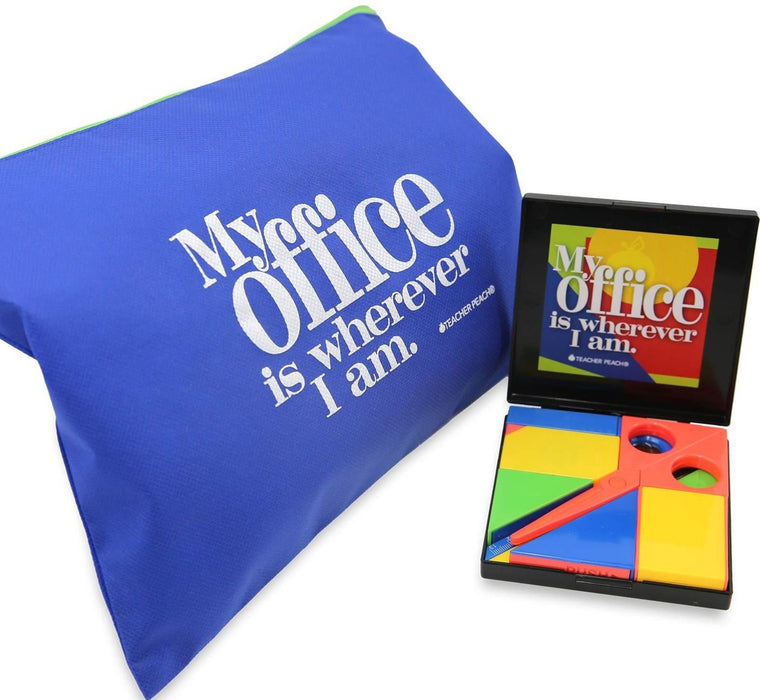 Remote Tangram Office Supplies Gift Set