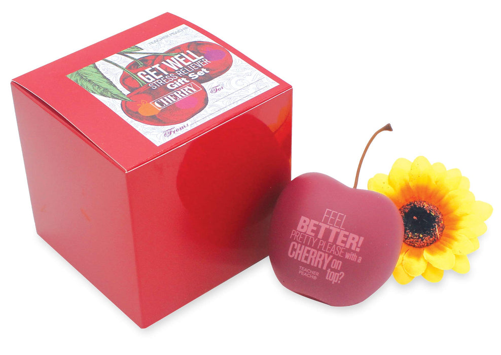 Get Well Stress Reliever Fruity Gift Sets (6 Variations)