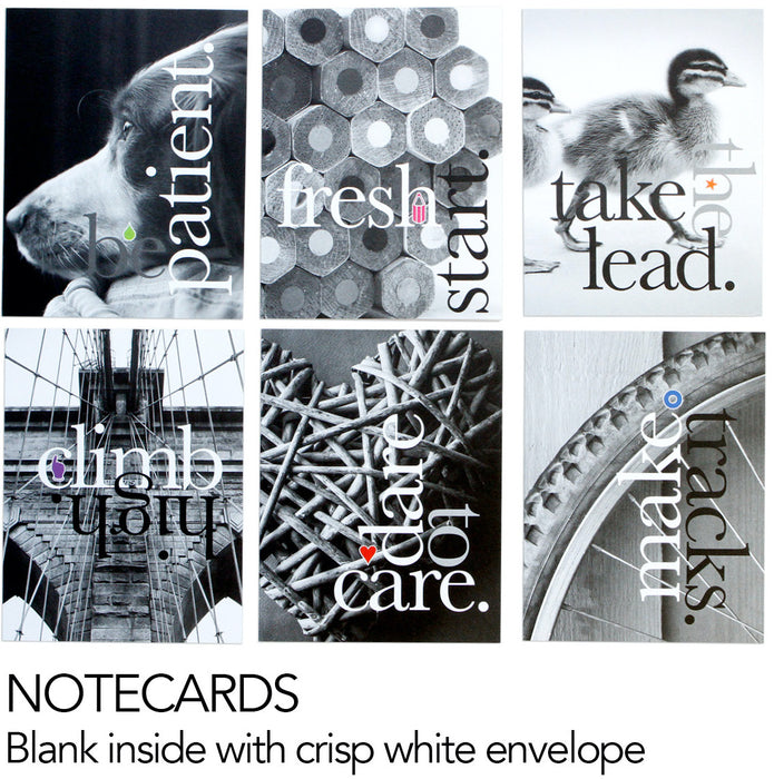 Black & White Photo Notecards and Postcards Set