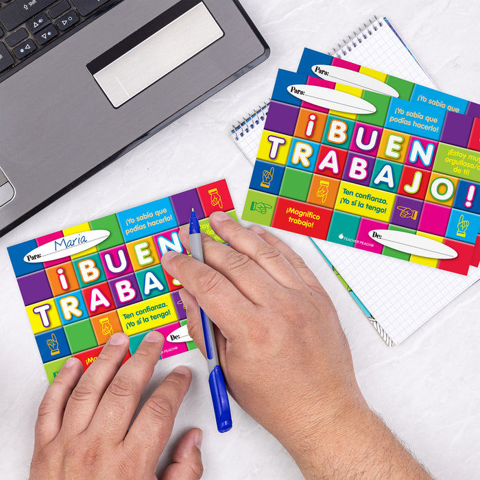 Spanish Positive Postcards (BUEN TRABAJO!)