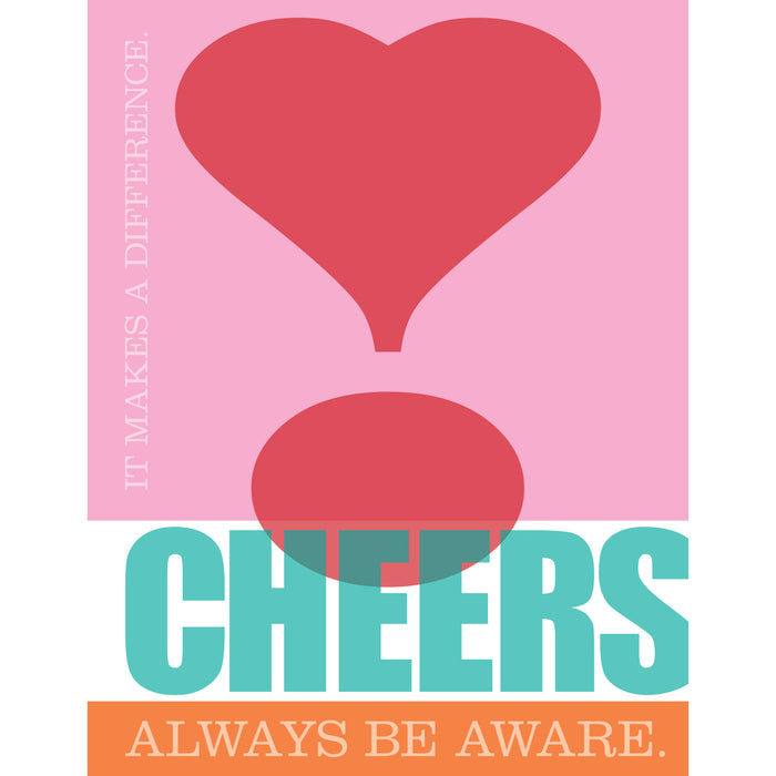 CHEERS Greeting Cards Set