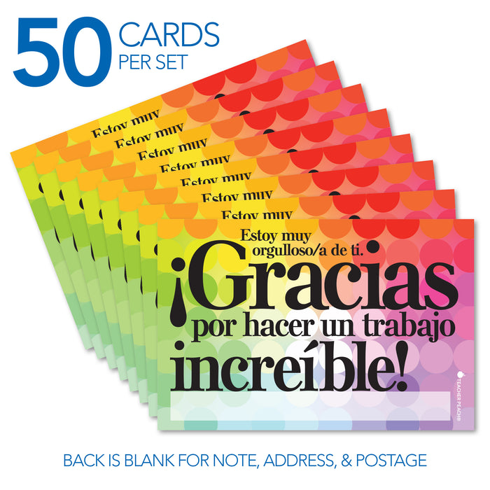 Spanish Positive Postcards (¡Gracias!)