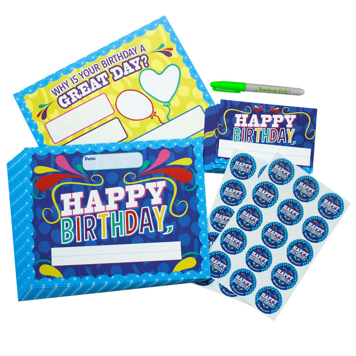 Happy Birthday Kit Class Set (D500)
