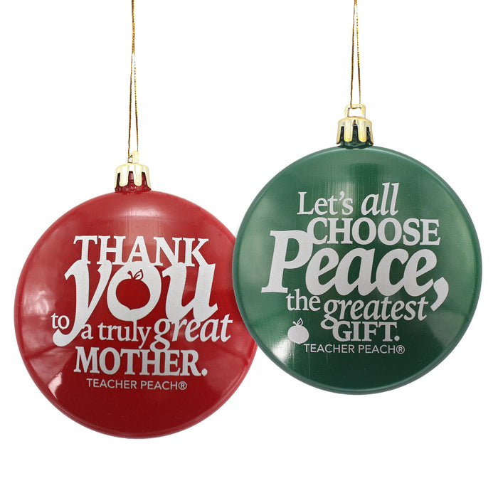 Holiday Ornaments Gift Set Just for Mothers