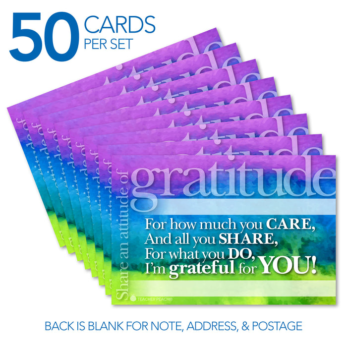 Gratitude Positive Postcards