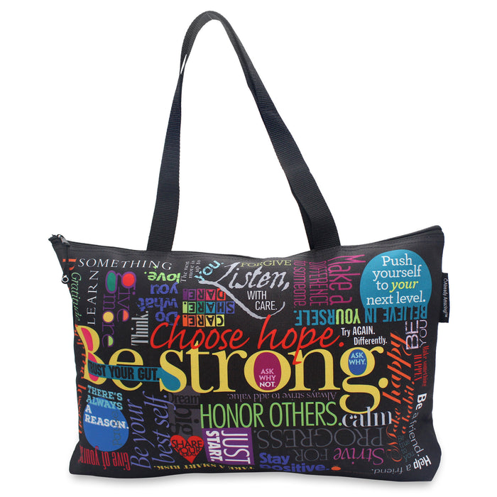 Inspiring Life Lessons Travel Gift Tote