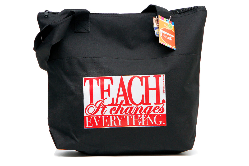 Teacher Gift Tote It Changes Everything