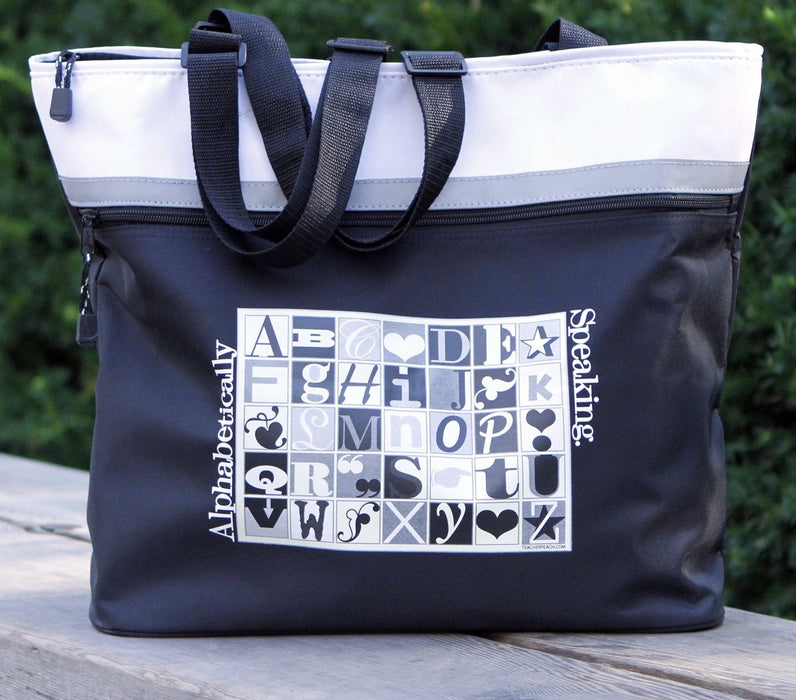Alphabetically Speaking Jumbo Gift Tote for All