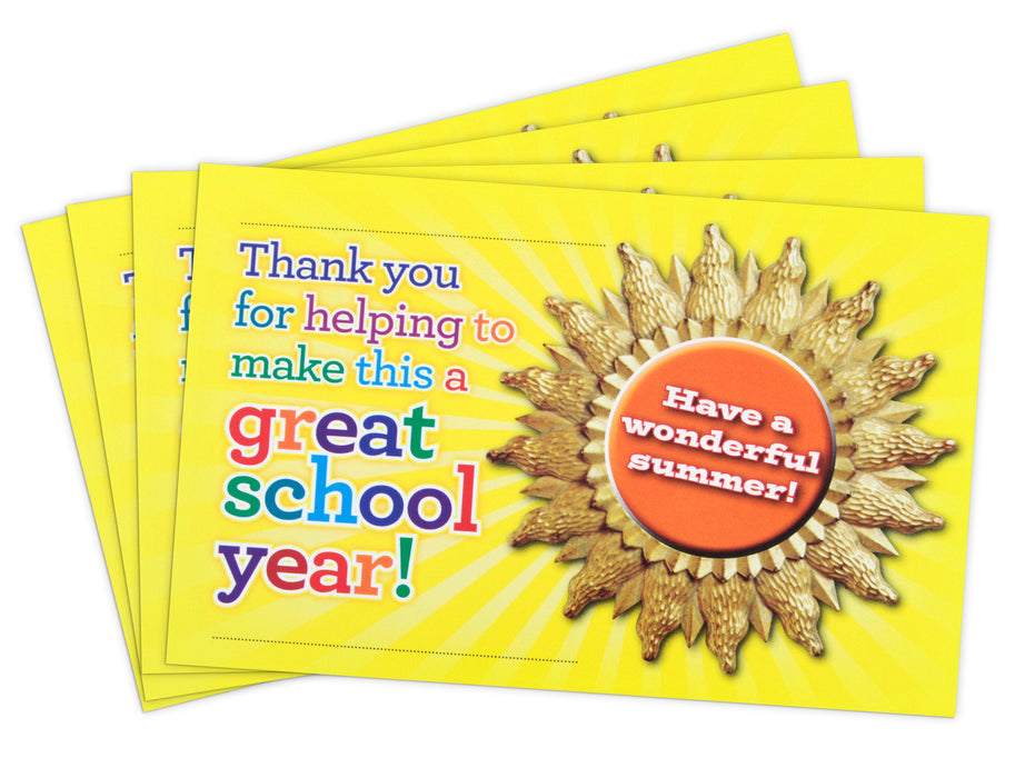 Wonderful Summer Thank You Positive Postcards