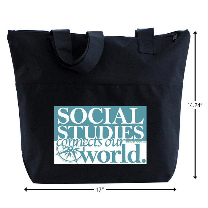 Social Studies History Teacher Gift Tote Bag
