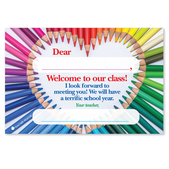 Back-to-School Heartfelt Positive Postcards
