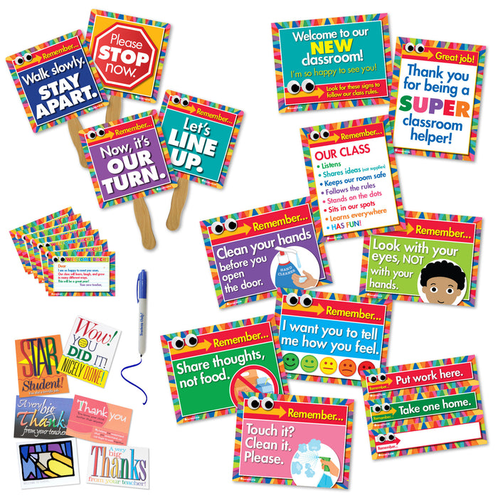 Classroom Safety Mega-Kit (signs, posters, postcards, & more)
