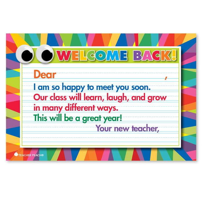 Back-to-School Postcard for My New Classroom
