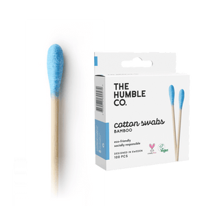 Cotton Swabs - Blue 100-pack - humble-usa