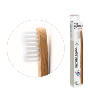 Humble Brush Kids - white, ultra-soft bristles - humble-usa