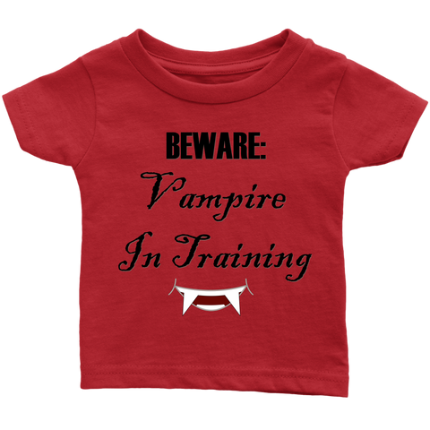 Vampire In Training Infant T-Shirt