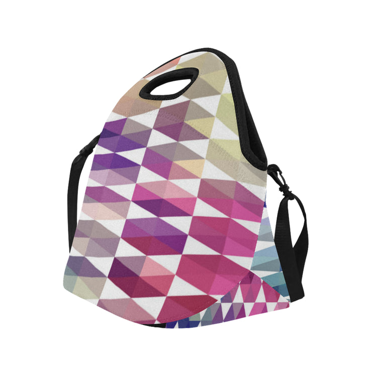 Jeweled Neoprene Lunch Bag/Large