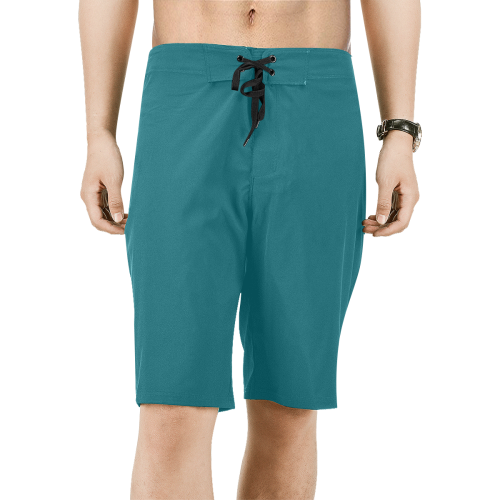 Green Men's Swim Trunks | XXXXXL / Green / Board Shorts | swimwear | JacksonsRunaway